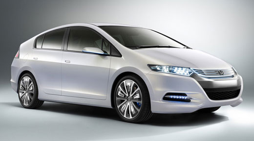 The 2012 Honda Insight Hybrid Electric Car