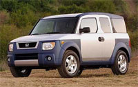 The Honda Element SUV